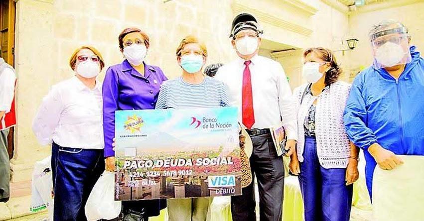 Cerca de 10 mil maestros sin sentencia judicial serán incluidos para pago de deuda social 2021 en la región Arequipa