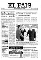 Portada del diario EL PAÍS del día 4 de septiembre de 1999