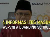 4 Informasi Penting Tes Masuk Assyifa Boarding School 2021-2022