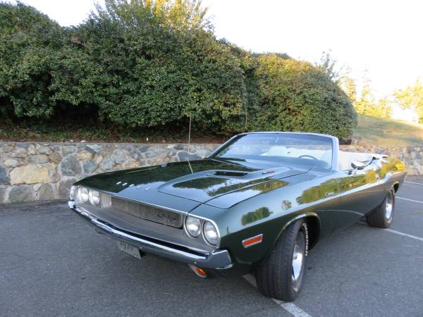 1970 Challenger Convertible For Sale Buy American Muscle Car