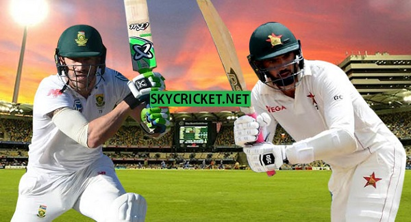 South Africa v Zimbabwe Test Series Fixture