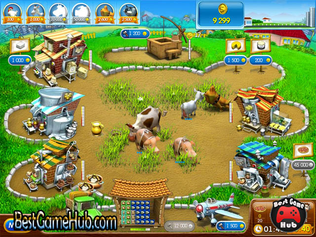 Farm Frenzy Pizza Party High Compressed PC Game Free Download