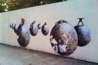 Street Art : Philippe Hérard, le poète de Ménilmontant