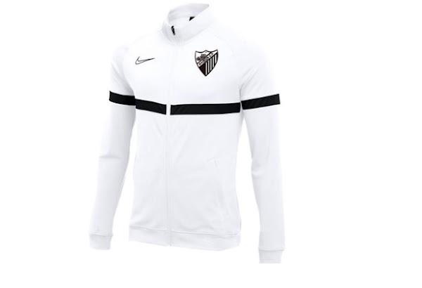 El Málaga anuncia el chándal y la ropa de entrenamiento 2021/2022