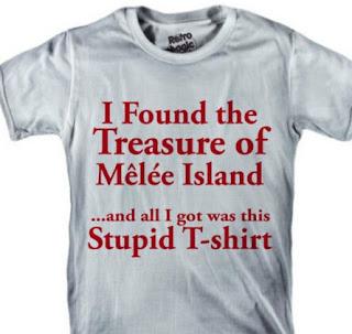 Camiseta Monkey Island - Tesoro Isla Melee