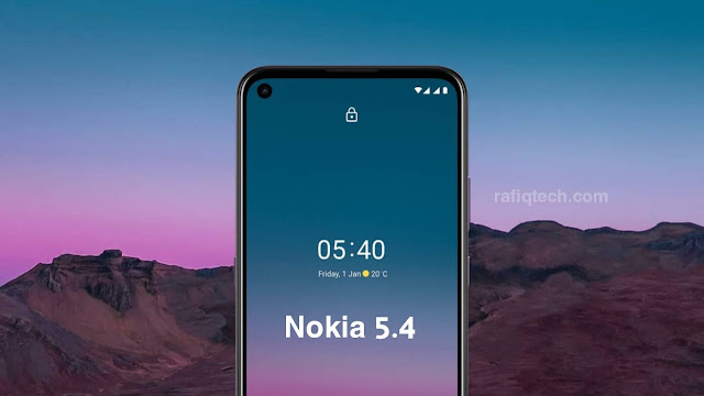تحميل خلفيات نوكيا 5.4 Nokia الرسمية بجودة عالية الدقة