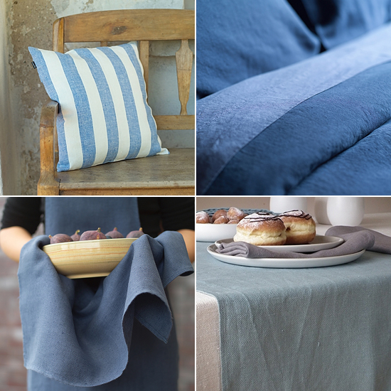 Inspiring interiors with a fresh mediterranean country vibe. Finest linen bedding and home textiles by @linenme