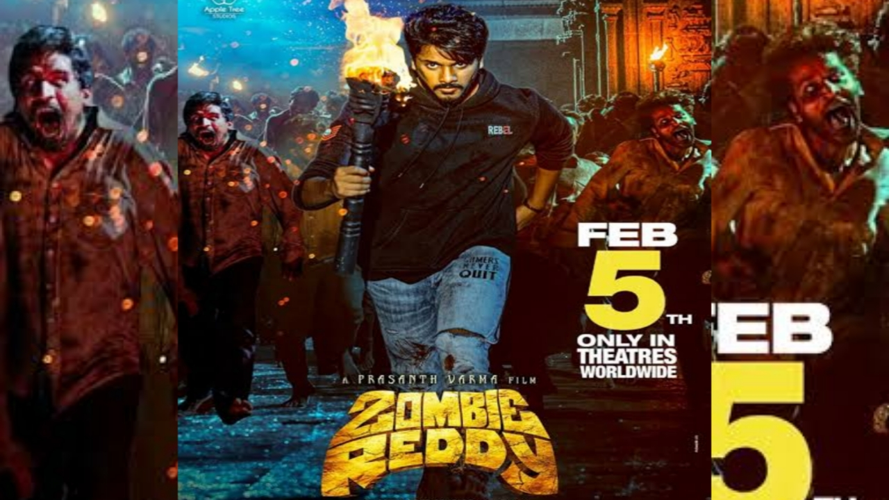Zombie Reddy 2021 Telugu Full Movie Review in Movierulz