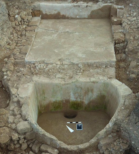 Iron Age wine press unearthed in Lebanon