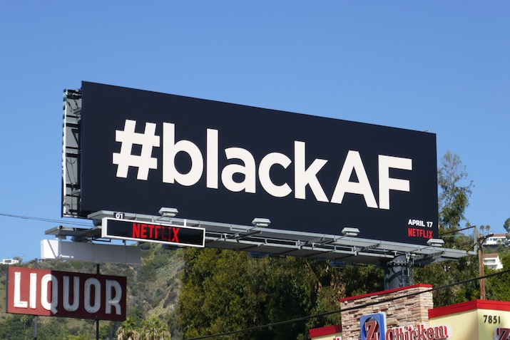 BlackAF series teaser billboard