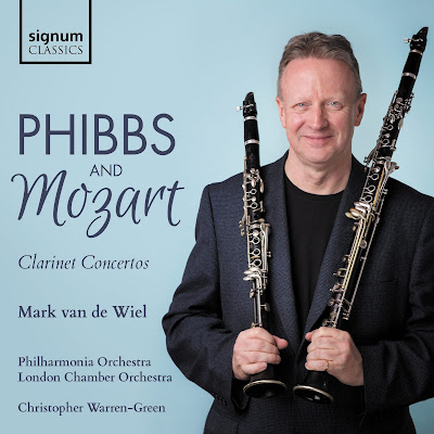 Joseph Phibbs: Clarinet Concerto - Mark van de Wiel - Signum Classics