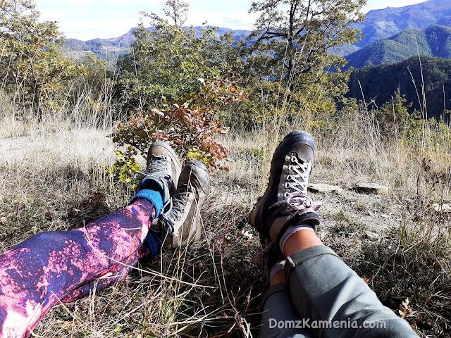 Dom z Kamienia blog, trekking w Toskanii