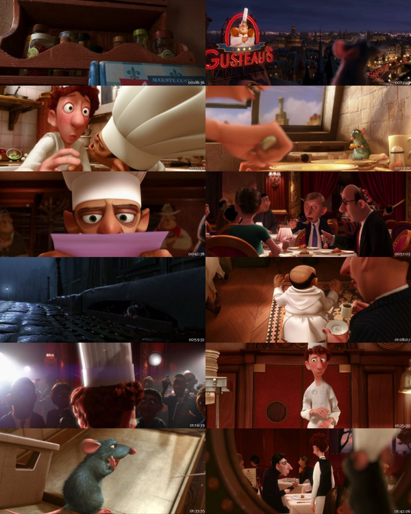 Download Ratatouille 2007 Dual Audio ORG Hindi 720p BluRay 600MB ESubs movie