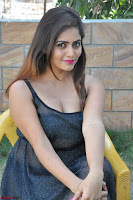 Pragya Nayan New Fresh Telugu Actress Stunning Transparent Black Deep neck Dress ~  Exclusive Galleries 059.jpg
