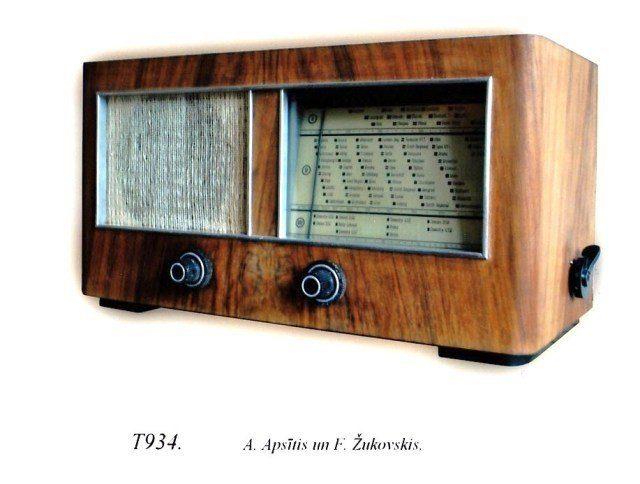 Radio T934. A.Apsitis un F.Zukovskis