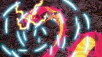 Centiskorch Gigamax Anime Pokémon