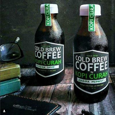 Minuman Khas Riau Pelepas Dahaga es kopi liberika Pekanbaru