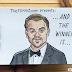 'Leonardo DiCaprio Ganhando o Oscar' Por Ben Zurawski