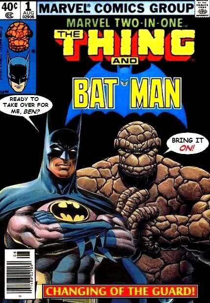 Batman And The Thing
