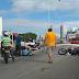 Colisão entre dois carros e uma moto na BR-101 em frente a Arena das Dunas