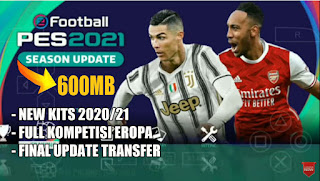 Download PES 2021 English Version Season Update Camera PS4 Fix Cursor & Full Kompetisi Eropa