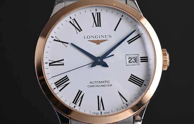Tasting the Longines Trailblazer - The Longines Record Automatic White Dial Men's Watch Replica