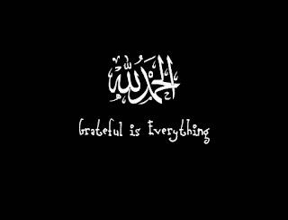 Tulisan Alhamdulillah terindah