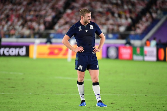 Finn Russell of Scotland during the Rugby World Cup match between Japan and Scotland