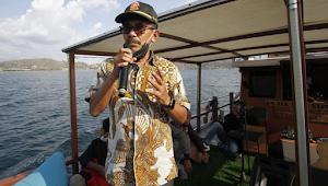 "Wali Kota Bima HM Lutfi Launching Kapal Wisata ""La Hanu-All Star"""