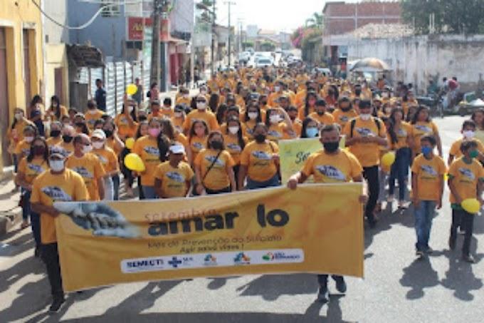 Setembro Amarelo: Caminhada em São Bernardo lembra a importância da prevenção ao suicídio