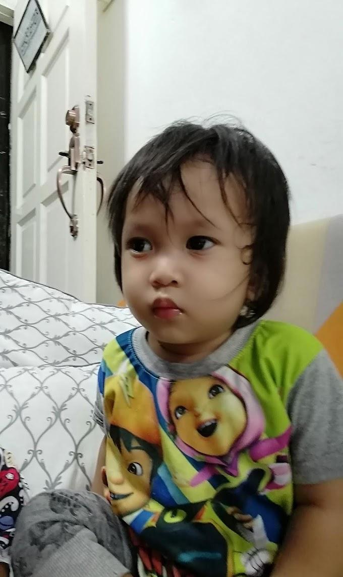 Gunting rambut anak masa PKP 2021