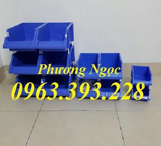 Khay linh kiện xếp chồng, Kệ dụng cụ xếp tầng, Hộp nhựa đựng linh kiện 734d8a8b906e77302e7f