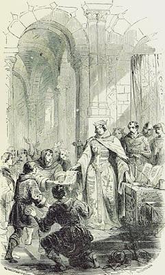 Ermensinde II verleent stadsrechten aan Echternach