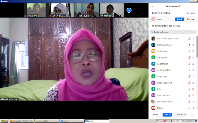SMAN teleconference 110 during WFH