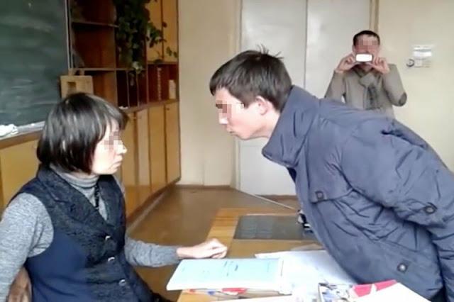 Пьяный подросток на уроке обматерил учительницу