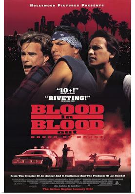 Póster película Sangre por sangre