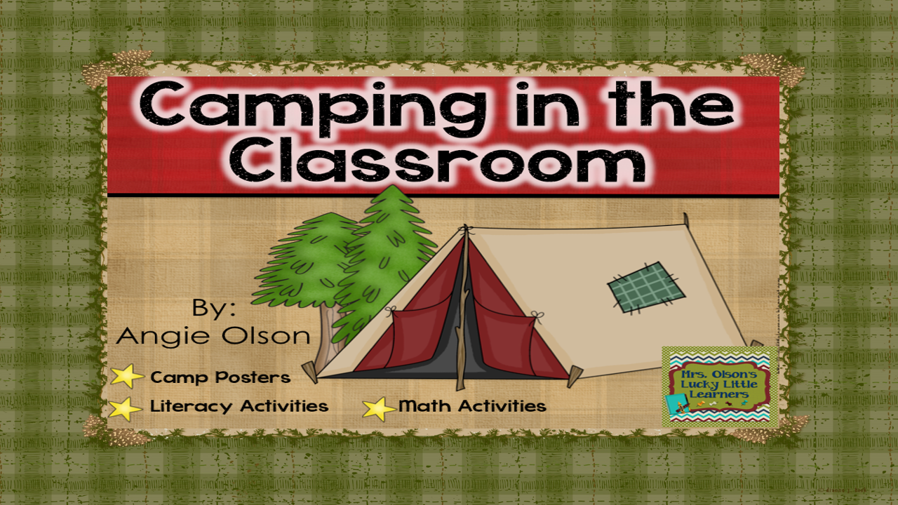 Your students will love learning in a camp-themed environment that integrates literacy learning into all subject areas!