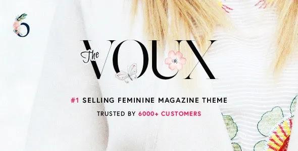 The Voux Magazine WordPress Theme