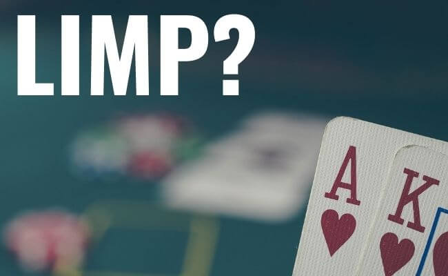 Should You Limp with AK?