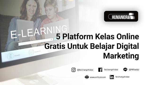 5 Platform Kelas Online Gratis Untuk Belajar Digital Marketing