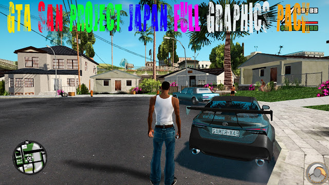 GTA San Andreas Project Japan Full Graphics Pack