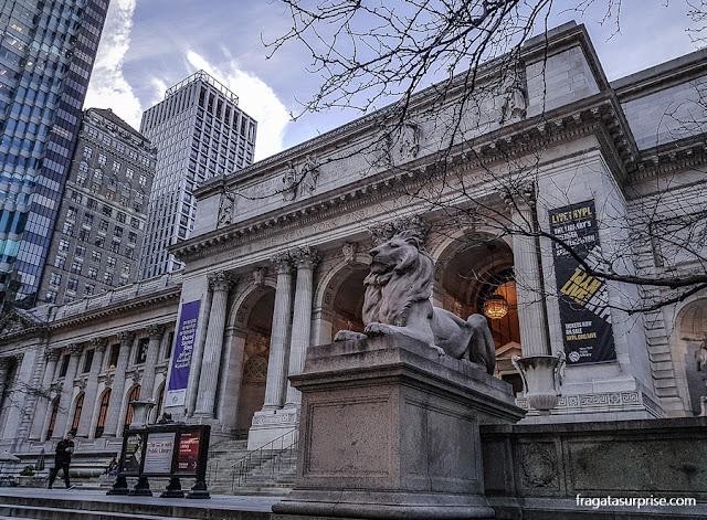 5ª Avenida, Nova York:  Biblioteca Pública