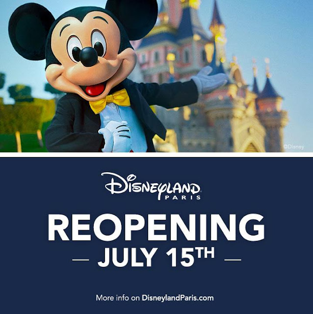 Disney, Disney Parks, Reopen, It's time for Magic, Disneyland Paris, DL{. DLRP, 巴黎迪士尼樂園, 重開