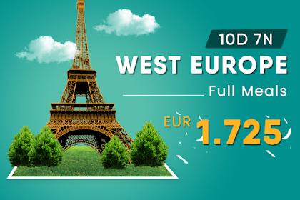 Paket Tour Eropa Barat Full Meals