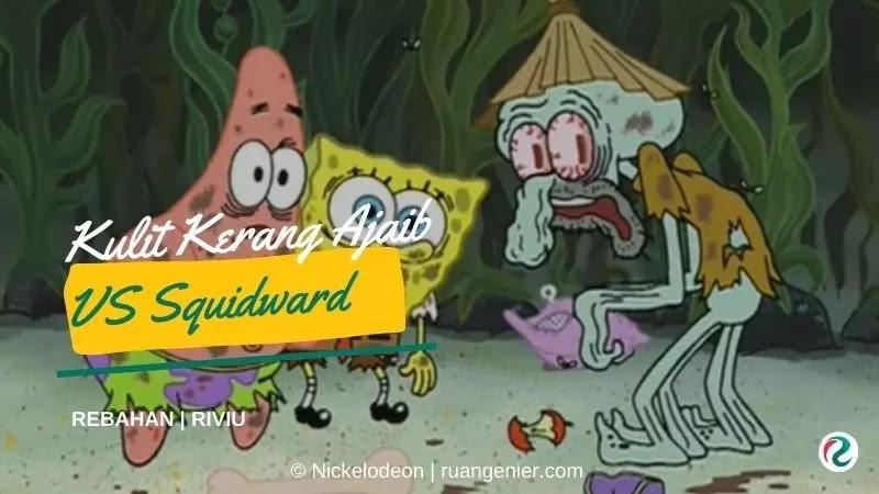 kulit kerang ajaib spongebob
