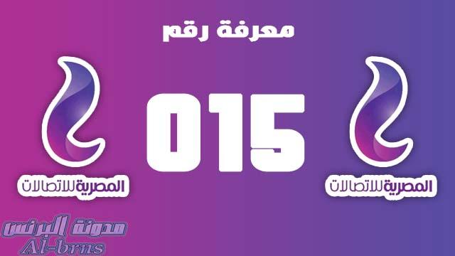 الطريقة الصحيحة لمعرفة رقم WE المصرية للاتصالات | معرفة رقم 015