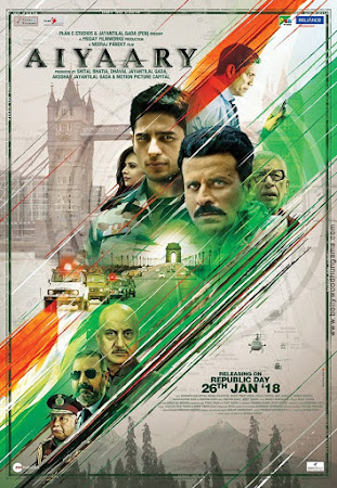 Aiyaary (2018) Movie Poster