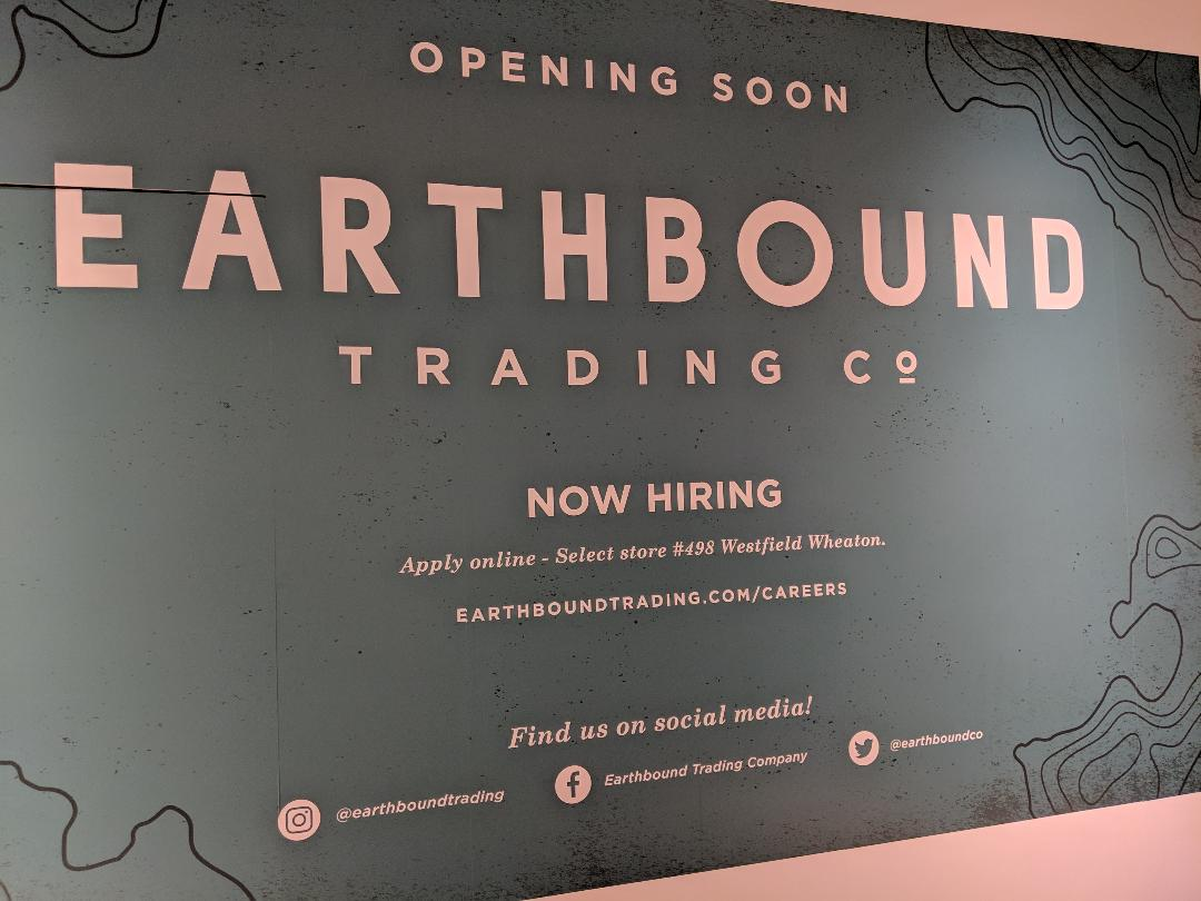 East MoCo: Earthbound Trading Co  to open Wheaton Plaza store