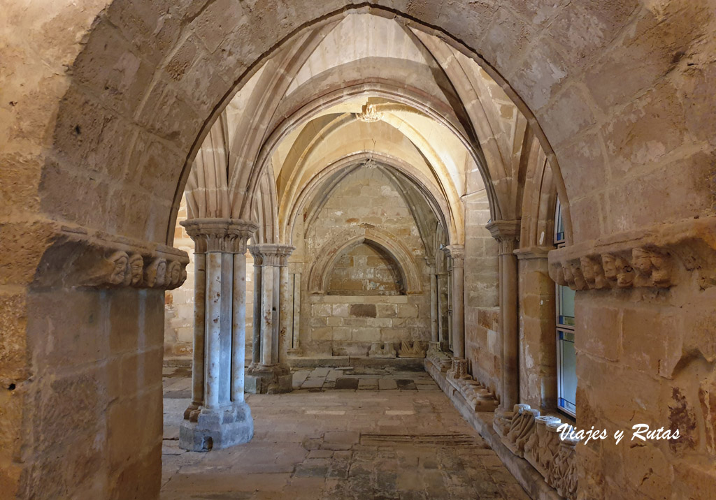 Sala Capitular del Monasterio de Santa María la Real, Aguilar