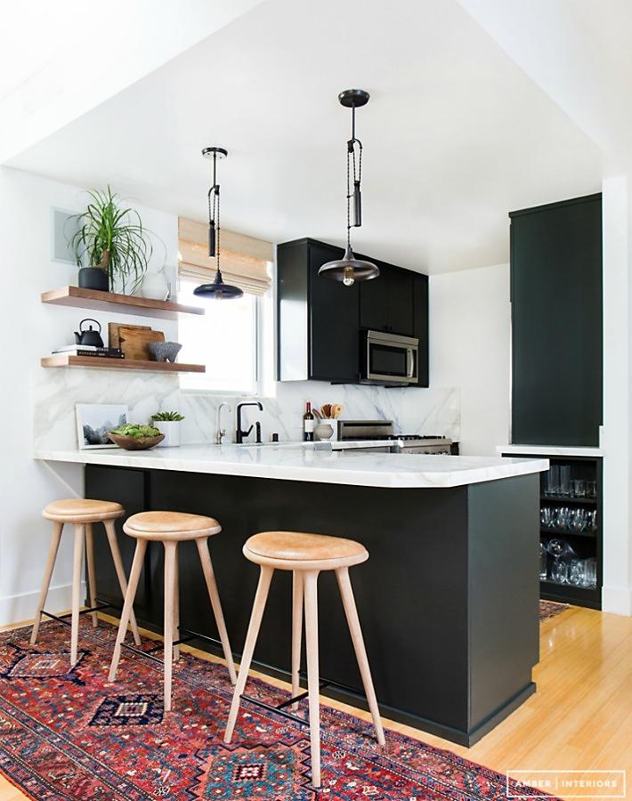 Decoraci n f cil medidas y consejos para instalar una for Mesa barra cocina